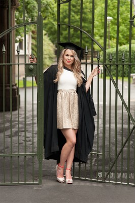Graduation photography with Scott Macshane Photography